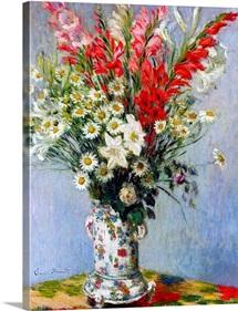 Vase of Flowers, 1878 (oil on canvas)