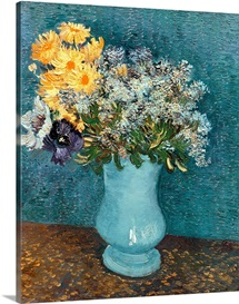 Vase of Flowers, 1887 (oil on canvas)