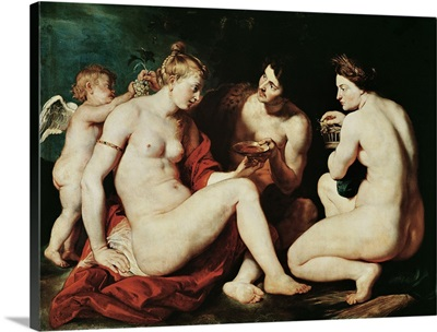 Venus, Cupid, Bacchus and Ceres, 1613