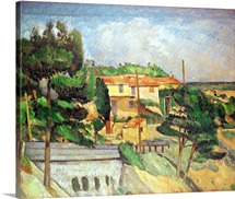 Viaduct at Estaque (oil on canvas)