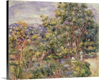 View Of Cagnes, 1900