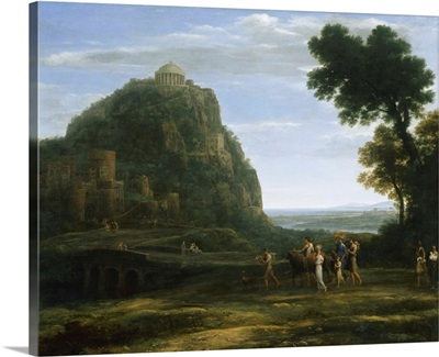 View of Delphi with a Procession, 1673