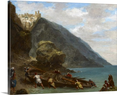 View of Tangier from the Seashore, 1856-8
