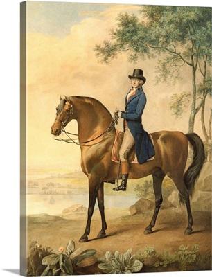 Warren Hastings on his Arabian Horse, 1796