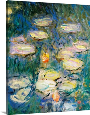 Water Lilies, detail