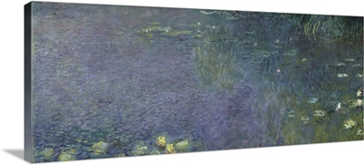 Waterlilies: Morning, 1914 18 (centre right section)