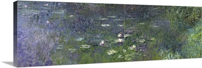 Waterlilies: Morning, 1914 18 (right section)