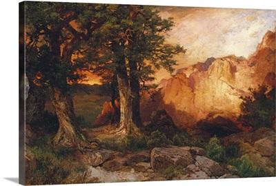 Western Sunset, 1897