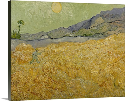 Wheatfield with Reaper, 1889