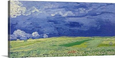 Wheatfields under Thunderclouds, 1890