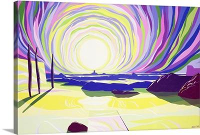 Whirling Sunrise, La Rocque, 2003