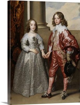 William II, Prince of Orange, and his Bride, Mary Stuart, 1641