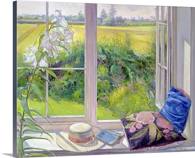 Window Seat and Lily, 1991