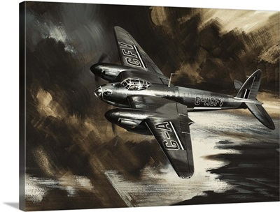 Wings over the World, illustration from 'Missions to Danger', 1969