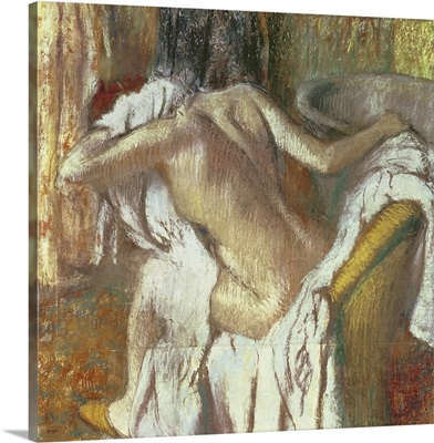 Woman drying herself, c.1888 92