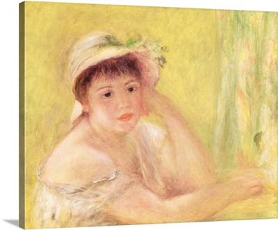 Woman in a Straw Hat, 1879