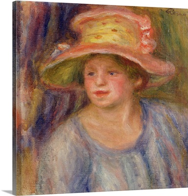 Woman with a hat, c.1915-19