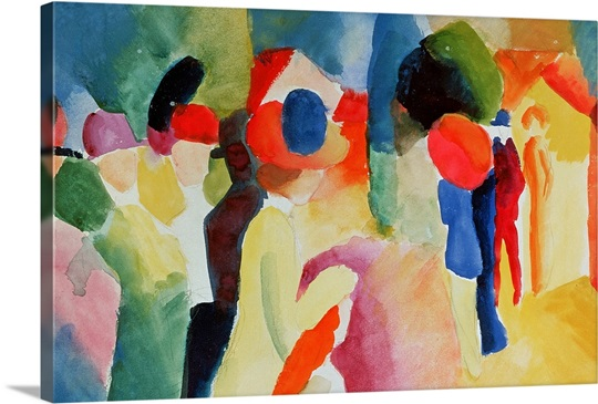 Woman with a Yellow Jacket, 1913 (watercolour)