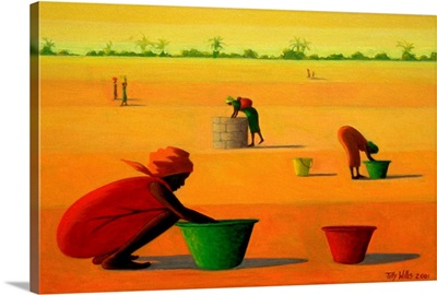 Woman's Work, 2001