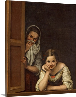 Women from Galicia at the Window, c.1655-1660