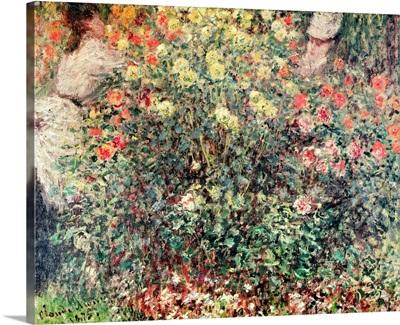 Women in the Flowers, 1875