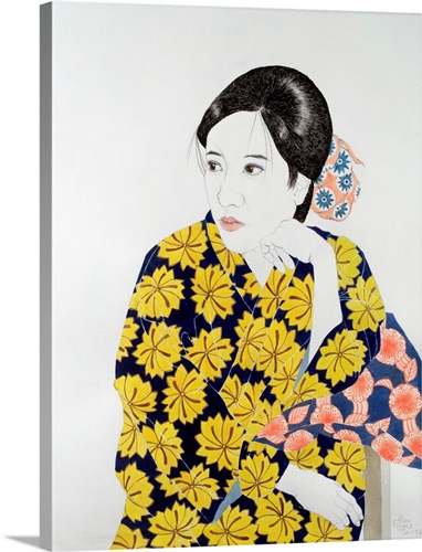 Nice Kimono Wall Art Vignette - Wall Art Collections ...