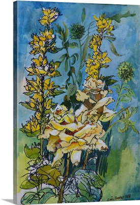 Yellow Rose And Loosestrife, 1983