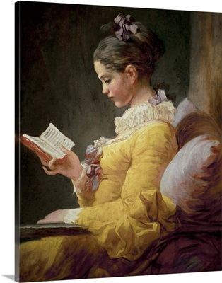 Young Girl Reading, c.1776