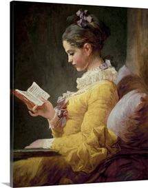 Young Girl Reading, c.1776 (oil on canvas)