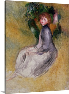 Young Girl Seated, 1885