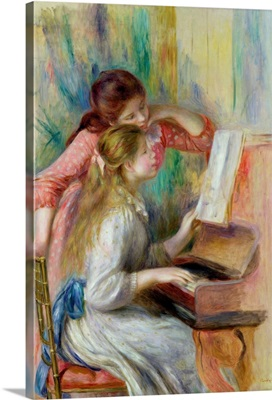 Young Girls at the Piano, c.1890