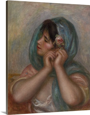 Young Woman Arranging Her Earring, 1905