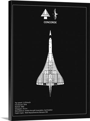 BAE Concorde Black