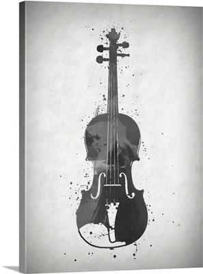 Black And White Cello