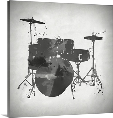 Black And White Drums