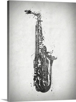 Black And White Sax