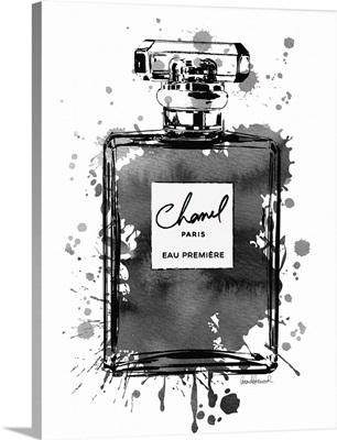 Black Inky Perfume in Black