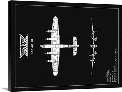 BP Avro Lancaster Black