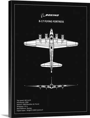 BP B17 FlyingFortress Black