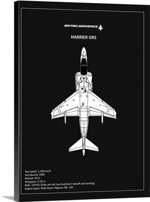BP BAE HarrierGR5 Black