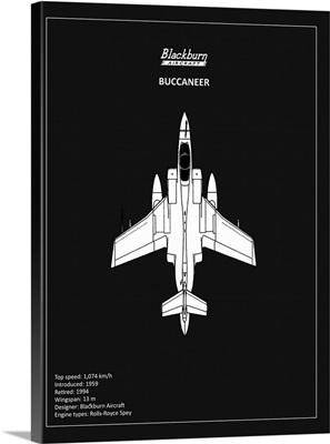 BP Blackburn Buccaneer Black