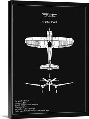 BP CV F4U-Corsair Black