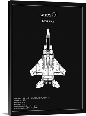BP F15 Eagle Black