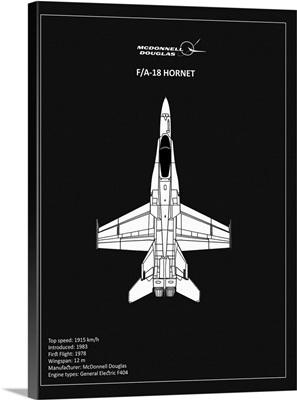 BP FA18 Hornet Black
