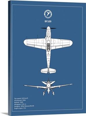BP Messerschmitt ME 109