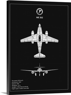 BP Messerschmitt ME262 Black