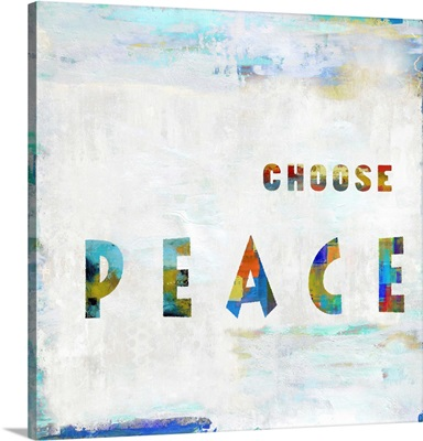 Choose Peace In Color