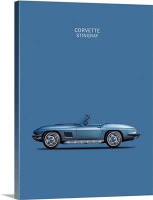 Corvette Stingray 1967 Blue