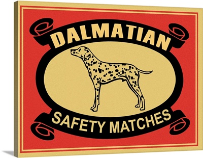 Dalmatian Safety Matches