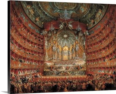Festa In Teatro A Roma